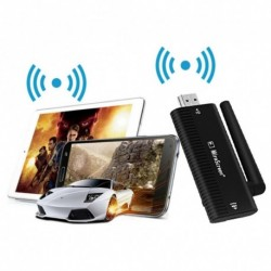 1x MiraScreen TV Stick HDMI Full HD 1080P Miracast DLNA Airplay WiFi Andriod ISO TVSB4
