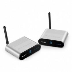 1x Measy 2,4 GHz AV adapter Vezeték nélküli audio / video adó és vevő