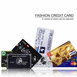 1db Hitelkártya USB Flash 8GB 16 GB-os USB 2.0 flash stick
