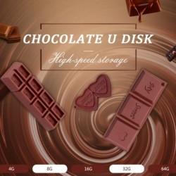 1db Csokoládé USB flash meghajtó Silicone Pendrive USB2.0  8 GB meghajtó  USB Stick
