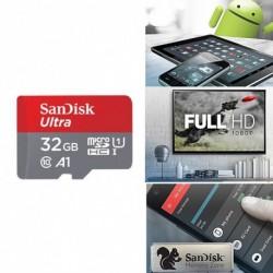 SanDisk ÚJ Ultra A1 128G Micro SD SDHC kártya 98MB / s UHS-I C10