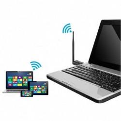 MTK7601 150 Mbps USB vezeték nélküli LAN adapter 2.4  USB WiFi hálózati adapter antennával 802.11