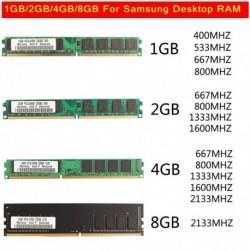 1db Samsung 1 GB PC2-5300 667Mhz memória x 1 Asztali számítógép pufferelt