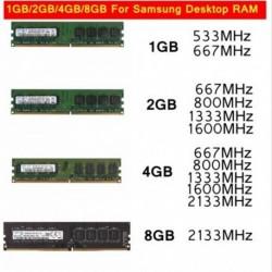 Samsung 1GB PC2 DDR2 memória x 1 Asztali számítógép PC pufferelt