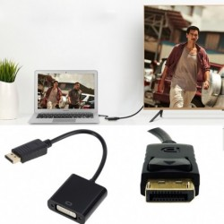 DisplayPort  DVI Adapter Mini kijelző port DP Thunderbolt Conversor