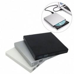 1db Vékony külső USB 2.0 DVD meghajtó CD RW író lejátszó PC laptophoz
