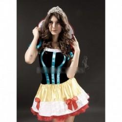 1x Szexi fantázia hercegnő csipke ruha jelmez hálóruha szerepjáték