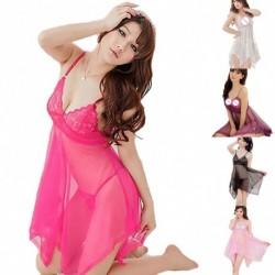 1x Női szexi fehérnemű csipke ruha Babydoll fehérnemű éjszakai hálóruha hálóing