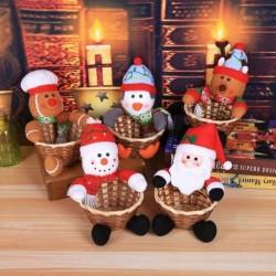 1x Ünnepi Karácsonyi téli otthon lakás dekorációs kellék Télapó  Hóember