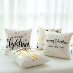 1x Ünnepi Karácsonyi téli otthon lakás dekorációs kellék párnahuzat