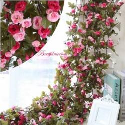 1x Új mesterséges növény műnövény virág művirág otthon kert lakás dekoráció 230cm