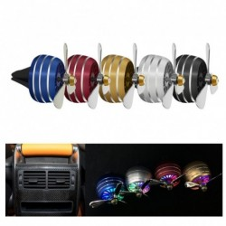 1 db Mini ventilátor autó légfrissítő Auto Vent Clip Outlet aromaterápiás belső kiegészítő