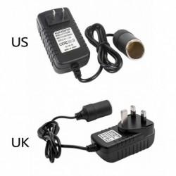 240V - 12V csatlakozó adapter hálózati dugó átalakító Autó cigaretta gyújtó 2A AC / DC