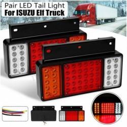 2db 50 LED hátsó hátsó lámpa ISUZU Elf teherautóra NPR NKR NHR NLR 1984-UP