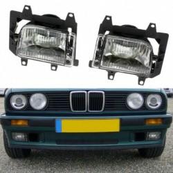 2db elülső lökhárító világos műanyag ködlámpa,   E30 318i 318is 325i 85-93