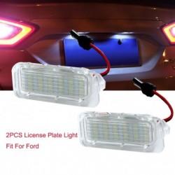 2db LED szám Rendszámtábla fényszámlámpa  a Ford Fiesta / Focus / Kuga / Mondeo készülékhez
