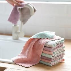 1x Puha konyhai mosogató edénytál tisztító kendő törülköző