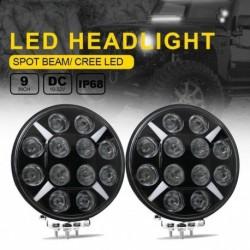 1db 9 hüvelykes 120W-os LED-es izzó fény DRL  offroad Jeephez