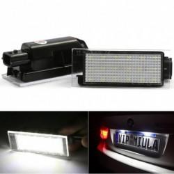 2db autó LED száma rendszámtábla fény Renault Twingo Clio Megane Laguna Vel Satis master