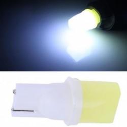 1db 12V T10 COB autó belső ajtó fénykibocsátó dióda lámpa blub LED fehér