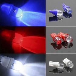 10db 12V T10 LED Autó Auto ék fény oldal műszerfal szám lemez lámpa izzó