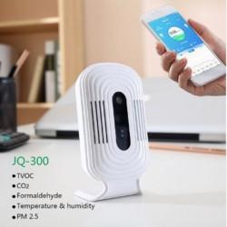 1x USB Wifi levegőminőségmérő Smart Monitor érzékelő PM2.5 CO2 TVOC