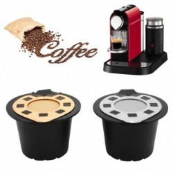 1x Új kávé kapszula szűrő Pod Cup Nespresso újrafelhasználható