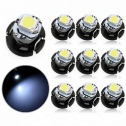 10db T3 1 SMD LED Autó izzó Neo Wedge éghajlati mérő Műszerfal vezérlőizzó