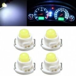 4db autó T4.7 LED műszerfal mérőműszer oldalsó ék figyelmeztető lámpa izzó