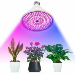 1x 290LED Teljes spektrumú növények növesztő LED hidroponikus E27 lámpa