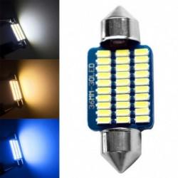 1db 36MM 30LED Autó Canbus  belső olvasás Fény lámpa izzó 12V