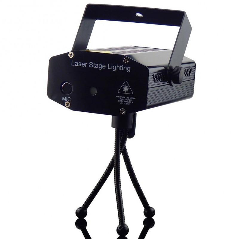 4aec3cf0d58d 1x Mini modern LED színpad világítás R&B lézer projektor DJ Party Effect