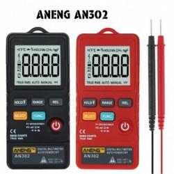 1x AN302 Digitális multiméteres vékony kártya 8000 típus AC egyenáramú feszültségmérő