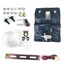 Univerzális klasszikus autó  szélvédőmosó szivattyú táska készlet Jet gomb tömlő 12V