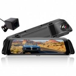 "10 ""Autó DVR kamera hátsó tükör FHD 1080P Dash Cam  videofelvevő Stream Media L10"