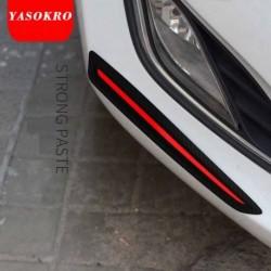 2db Autó matrica lökhárító karcolásvédelem Elülső / hátsó él sarokvédő karcvédő szalag
