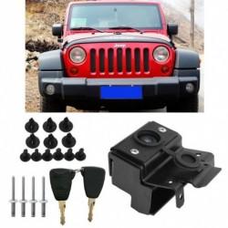 Biztonsági  zárkészlet motor lopásgátló szerelvénye  a Jeep Wrangler JK 07-18 kulcshoz