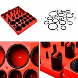 407db DIY Anyagok Válogatott O gyűrűs tömítésgyűrű választék készlet tömítés vízvezeték garázs készlet tokkal