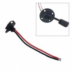 SAE hosszabbító kábelköteg DC tápfeszültség töltés DIY autóipari kisfeszültségű kábel