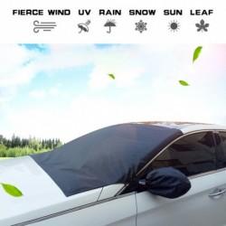 215 * 125 cm-es autó szélvédő fedő mágneses nappali  jég fagy szélvédő