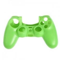 Zöld. Szilikonfedő bőr tok Protector tartozékok PS4 Playstation 4 vezérlőkhöz