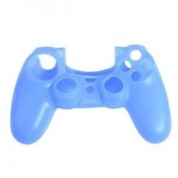 Kék. Szilikonfedő bőr tok Protector tartozékok PS4 Playstation 4 vezérlőkhöz