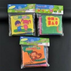 3db (Character   állati   Graphics .... Gyermek csecsemő baba intelligencia fejlesztése puha ruhát felismerik a könyv