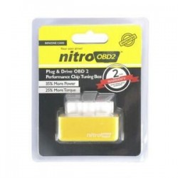 Sárga. Gazdaságos üzemanyag-megtakarító Eco OBD2 Benzin Tuning Box Chip autós benzinmegtakarításhoz 4Color