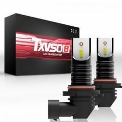 * 2 M9006 HB4 50W. 9005 HB3 H4 H7 H8 H9 H11 LED fényszóró izzók készlet izzó autó magas alacsony sugárzó ködlámpa