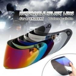 Egyértelmű. Motorkerékpár szélvédő sisak objektív visor teljes arcát illeszkedő AGV K1 K3SV K5