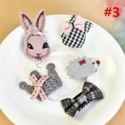 * 3 5Pcs / Set. 1 Set Hairpin Baby Girl hajcsípő íj virág Mini barrettes Star Kids fejfedők