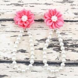 Görögdinnye piros. Nyári csecsemő gyerekek baba lány virág gyöngy mezítláb gyűrű láb karkötő szandál
