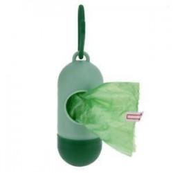 Világos zöld   sötétzöld. Kisállat kutya szemét tisztító táskák Hulladék hordozó tartó adagoló   Poop táskák