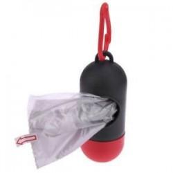 Szürke   Red. Hot Pet Dog szemét tisztító táskák hulladék hordozó tartó adagoló   Poop táskák készlet